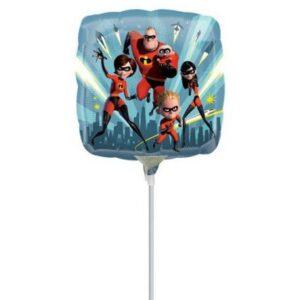 Disney A Hihetetlen család Mini fólia lufi 23 cm