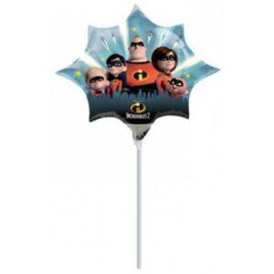 Disney A Hihetetlen család Mini fólia lufi
