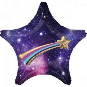 Celestial Star, Égi csillag Fólia lufi 71 cm