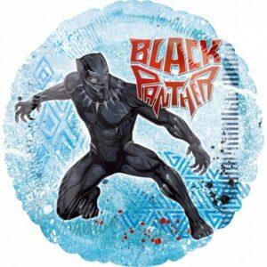 Bosszúállók Black Panther, Fekete Párduc Fólia lufi 43 cm