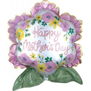 Happy mother's day, Boldog anyák napját Fólia lufi 68 cm