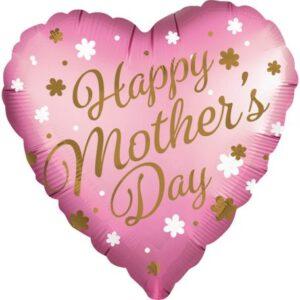 Happy mother's day, Boldog anyák napját Fólia lufi 71 cm