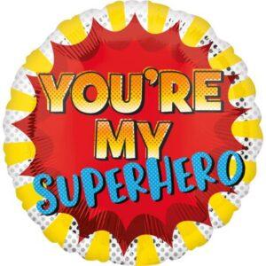 You'Re My Superhero, Te vagy a Hősöm Fólia lufi 43 cm