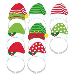 Karácsony Parti kalap, hajpánt 8 db-os