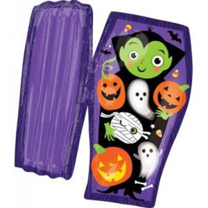Halloween Open Coffin Fólia lufi 78 cm