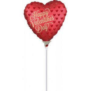 Happy Valentine's Day Fólia lufi 22 cm