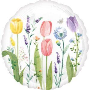 Tulipán fólia lufi 43 cm