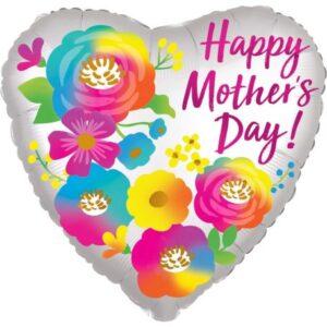 Happy Mother's Day, Boldog Anyák Napját Fólia lufi 45 cm