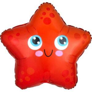 Tengeri csillag Fólia lufi 43 cm