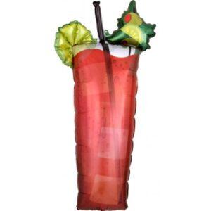 Bloody Mary, Koktél Fólia lufi 93 cm