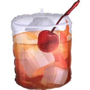 Cocktail, Koktél Fólia lufi 58 cm