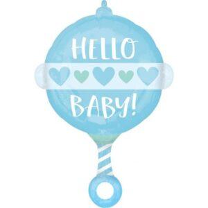 Baby Boy fólia lufi 60 cm