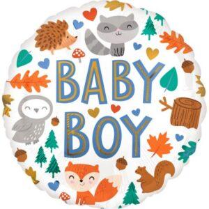 Baby Boy fólia lufi 43 cm