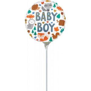 Baby Boy mini fólia lufi