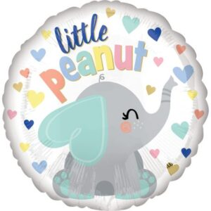Baby elefánt fólia lufi 43 cm