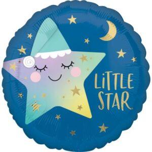 Little Star fólia lufi 43 cm
