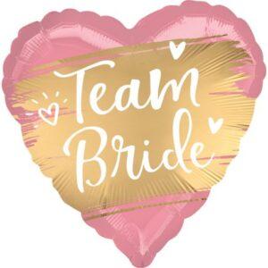 Team Bride fólia lufi 45 cm