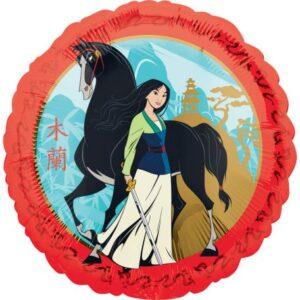 Disney Mulan fólia lufi 43 cm