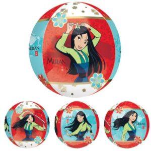 Disney Mulan gömb fólia lufi 40 cm
