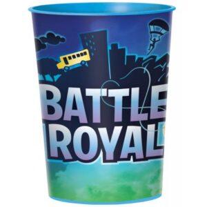 Battle Royal pohár, műanyag 473 ml
