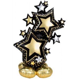 Csillag AirLoonz óriás fólia lufi 149 cm