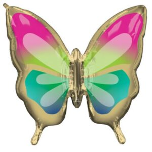 Trópusi pillangó fólia lufi 76 cm