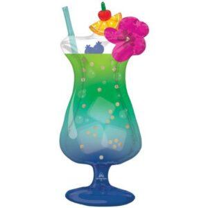 Cocktail, Koktél fólia lufi 93 cm