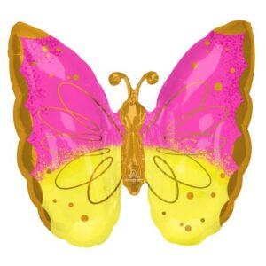 Pillangó fólia lufi 63 cm