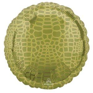 Aligátor mintás fólia lufi 43 cm