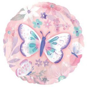 Flutter, Pillangó fólia lufi 43 cm