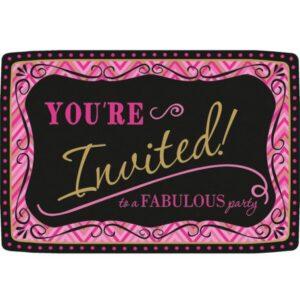 Fabulous party meghívó 20 db-os
