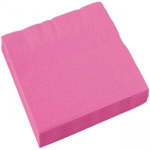 Bright Pink Szalvéta 20 db-os, 25*25 cm