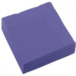 Szalvéta 20 db-os, 25*25 cm New Purple