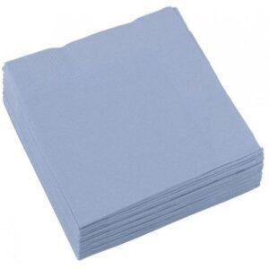 Szalvéta 20 db-os, 25*25 cm Pastel Blue
