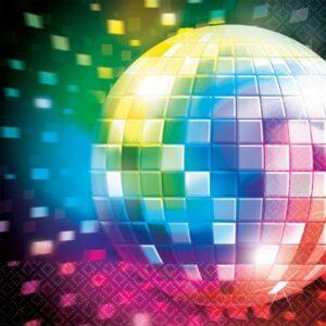 Disco Fever szalvéta 16 db-os, 33*33 cm