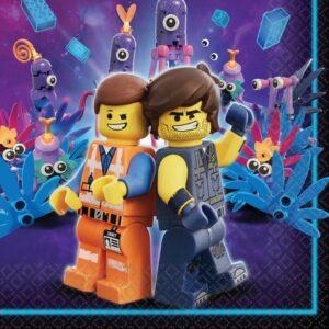 Lego Movie, Lego kaland szalvéta 16 db-os, 33*33 cm