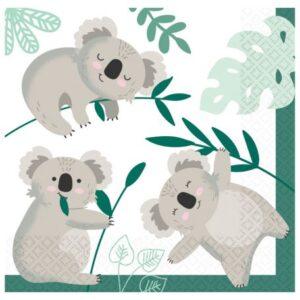 Koala szalvéta 16 db-os 33*33 cm