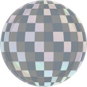Disco gömb Papírtányér 8 db-os 17,8 cm