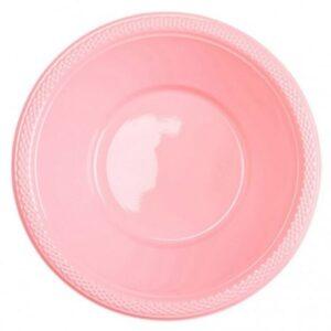Műanyag mélytányér 10 db-os Pretty Pink