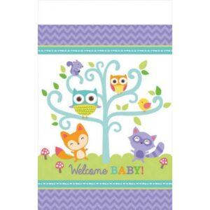Welcome Baby party Asztalterítő 137*259 cm