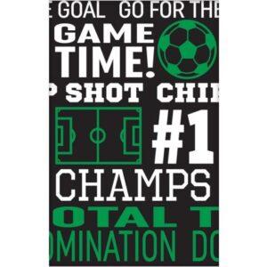 Football Goal, Focis Asztalterítő 137*259 cm