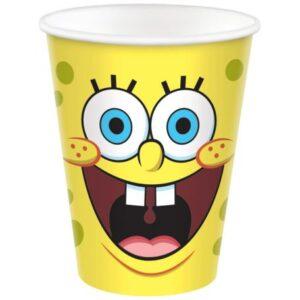 SpongyaBob papír pohár 8 db-os 250 ml