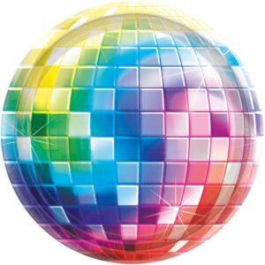 Disco Fever Süteményes Papírtányér 8 db-os 26,7 cm