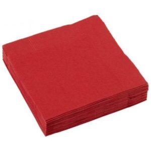 Apple Red Szalvéta 50 db-os, 25*25 cm