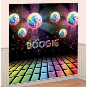 Disco Fever fali dekoráció 2 db-os 165 cm