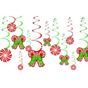Cukorka Szalag dekoráció 12 db-os szett