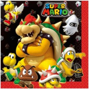 Super Mario szalvéta 20 db-os