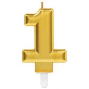 Gold, Arany számgyertya 1-es tortagyertya