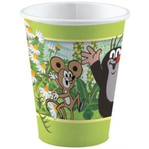 A Kisvakond papír pohár 8 db-os 250 ml