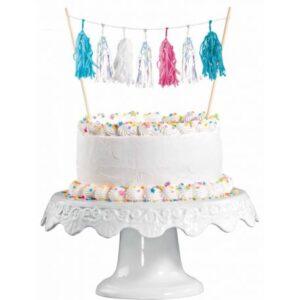Sellő torta dekoráció 15 cm